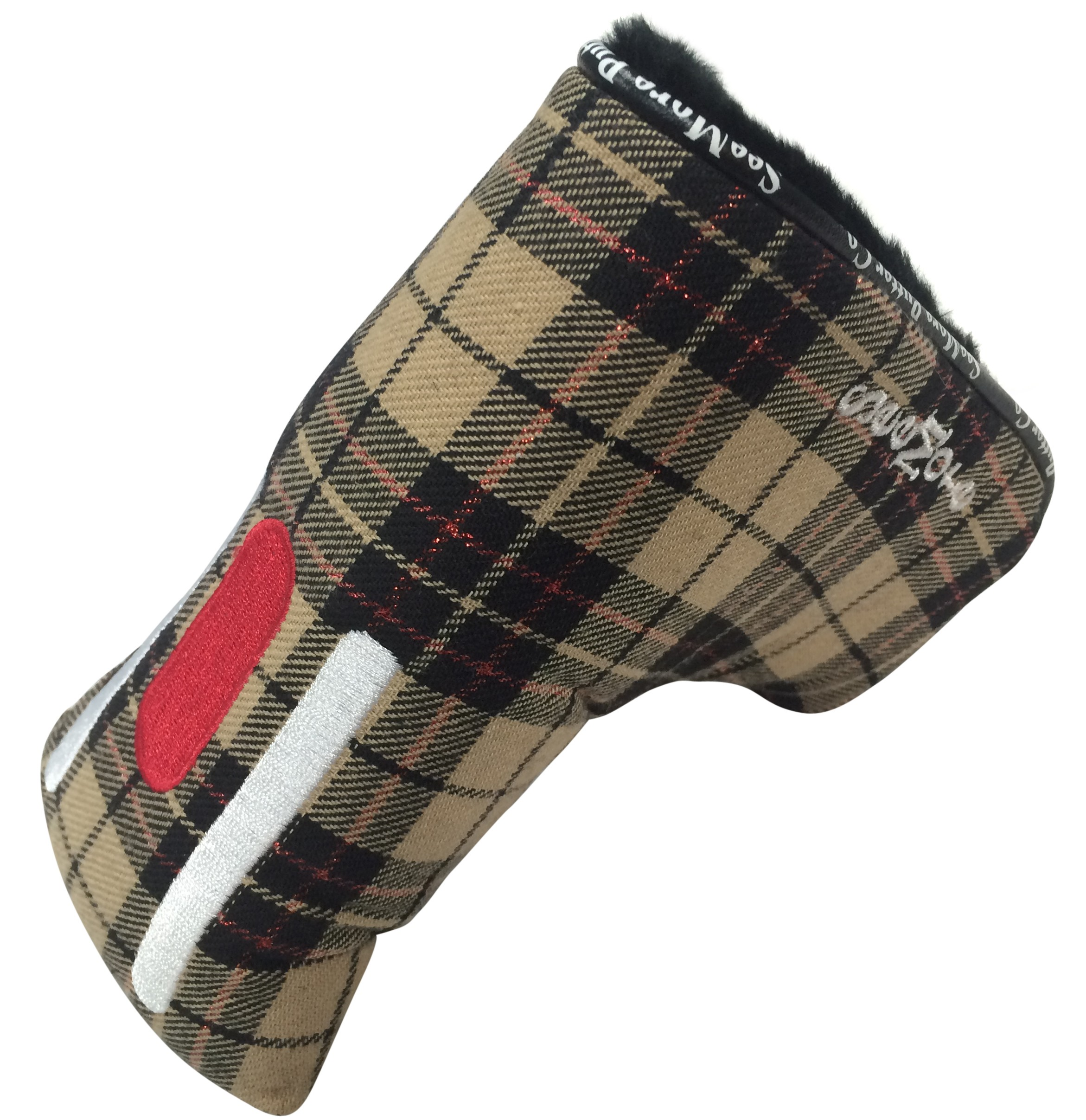 Beige w /Tartan Pattern (Magnetic Closure, Item # HC8059M)