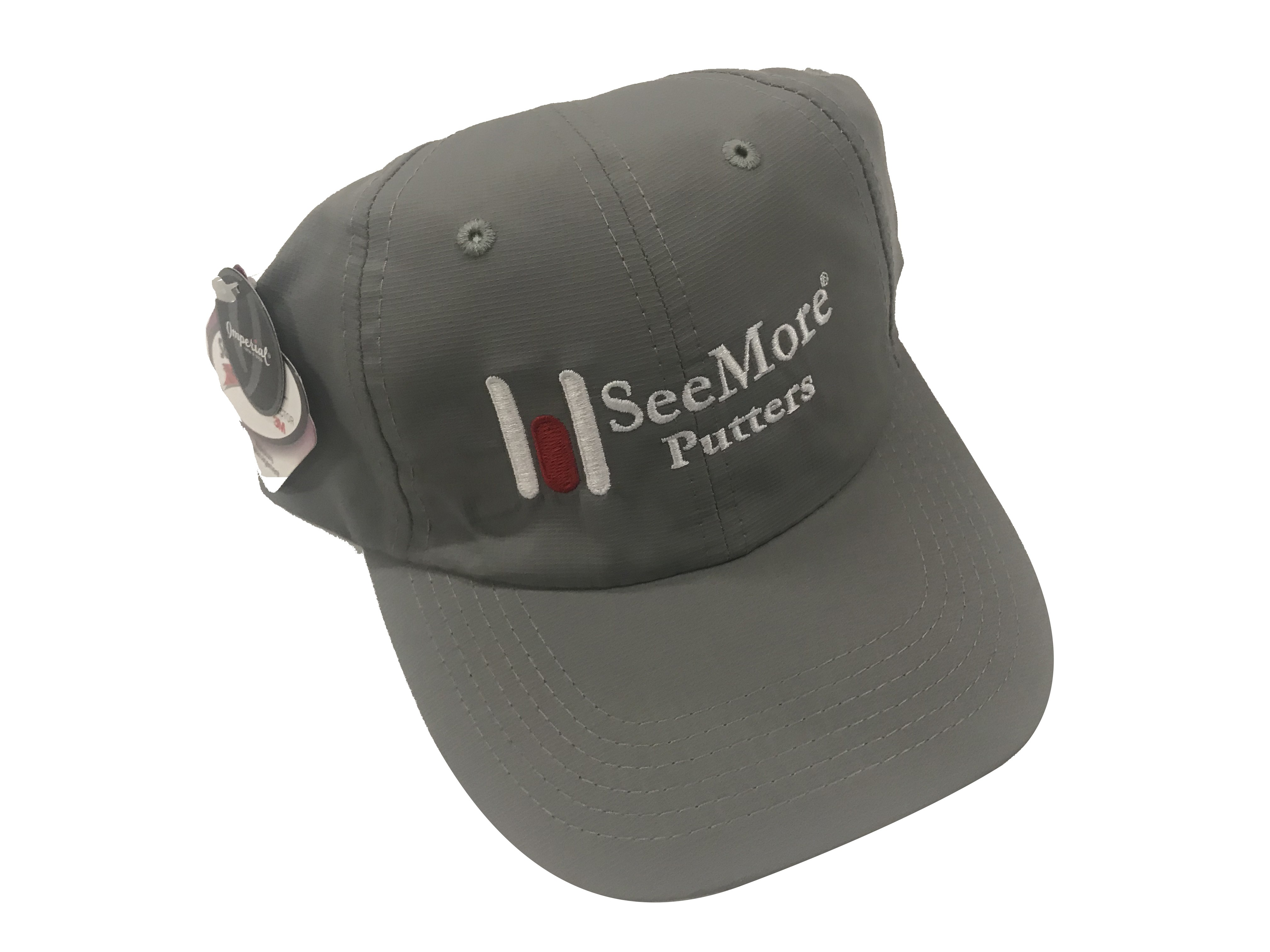 Imperial Hat with SeeMore Putter Logo - Gray
