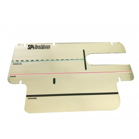 Lefthand Consistency Training Mirror - LEFTHAND ONLY (Item # AC9001)
