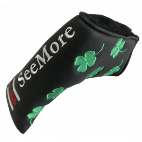 Black w / Four Leaf Clover (Magnetic Closure, Item # HC8046M)