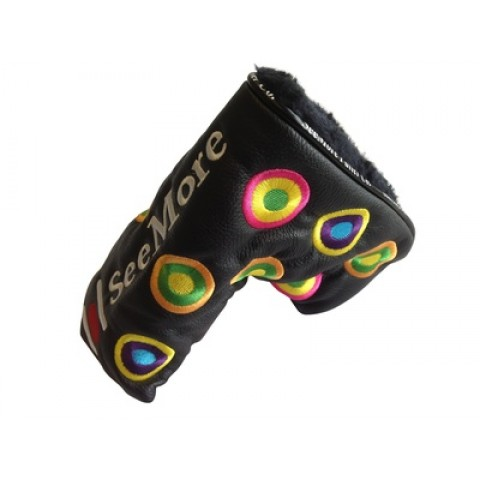 Groovy Black Head Cover (Magnetic Closure)