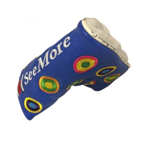 Groovy Blue Head Cover (Magnetic Closure)