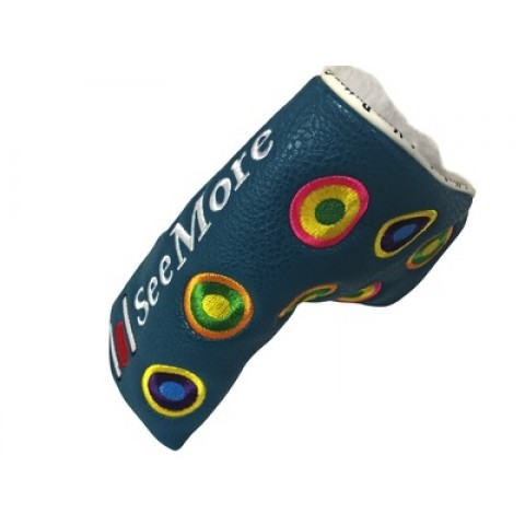 Groovy Teal Head Cover (Magnetic Closure)