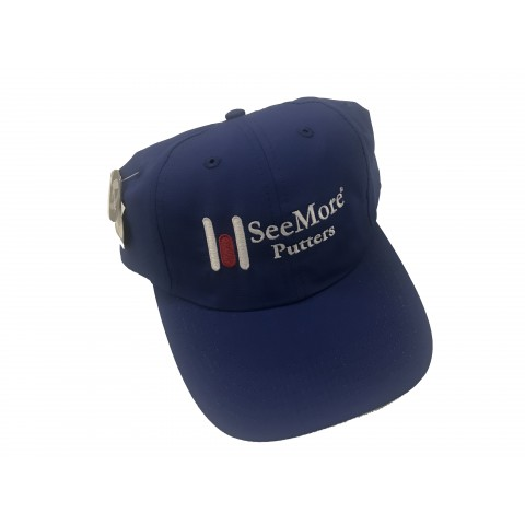 Imperial Hat with SeeMore Putter Logo - Blue
