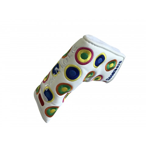 Groovy White Head Cover (Magnetic Closure)